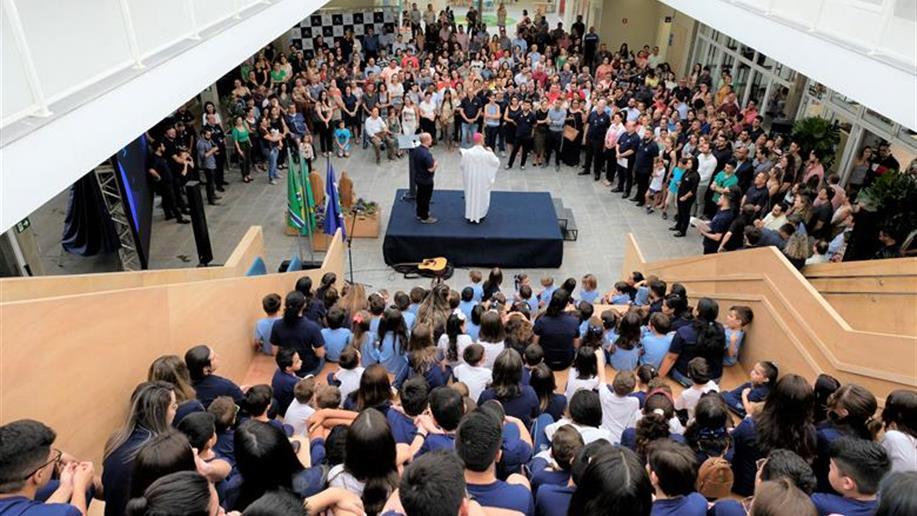 Primeira unidade marista do Mato Grosso teve a benção do bispo de Sinop