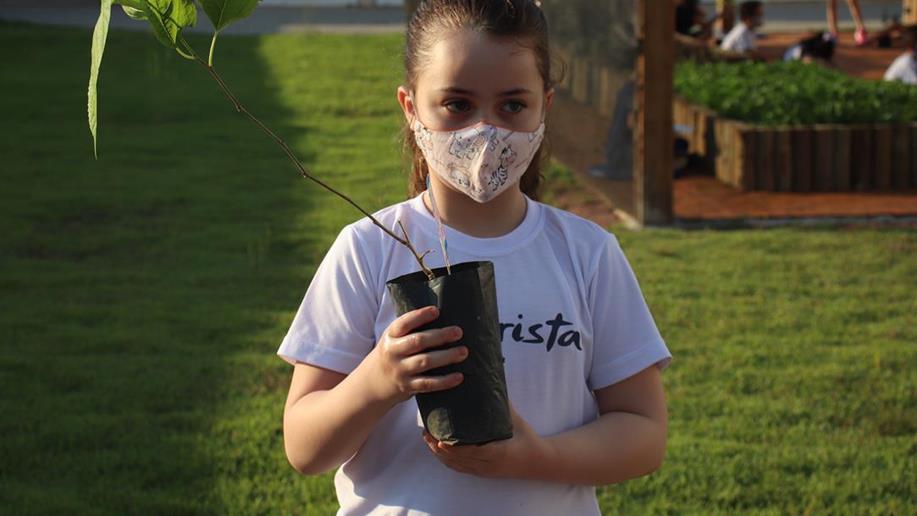 A atividade é alusiva ao Dia Mundial do Meio Ambiente, comemorado em 5 de junho