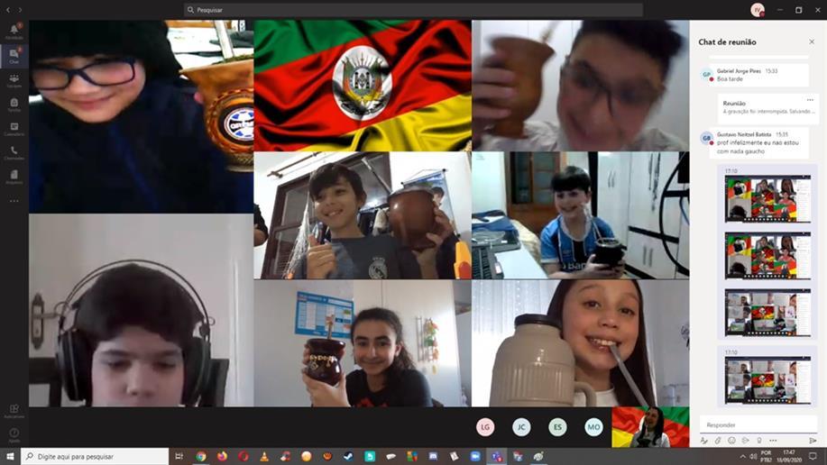 A programação da Semana Farroupilha proporcionou vivências da cultura gaúcha