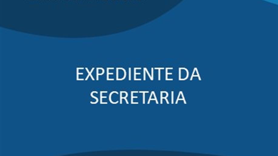 Não haverá expediente na Secretaria do Colégio nos dias 12 e 13 de outubro.