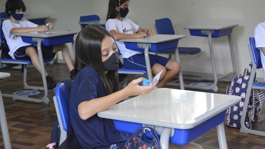 Estudantes voltam às aulas em nosso Colégio