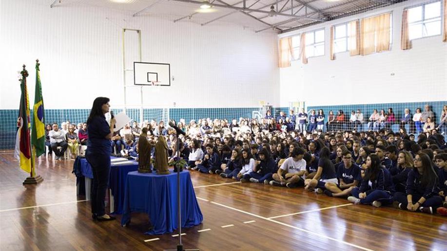 Entrega de Menção Honrosa e posse do GESF 2019 marcam o encerramento do ano letivo 2018.
