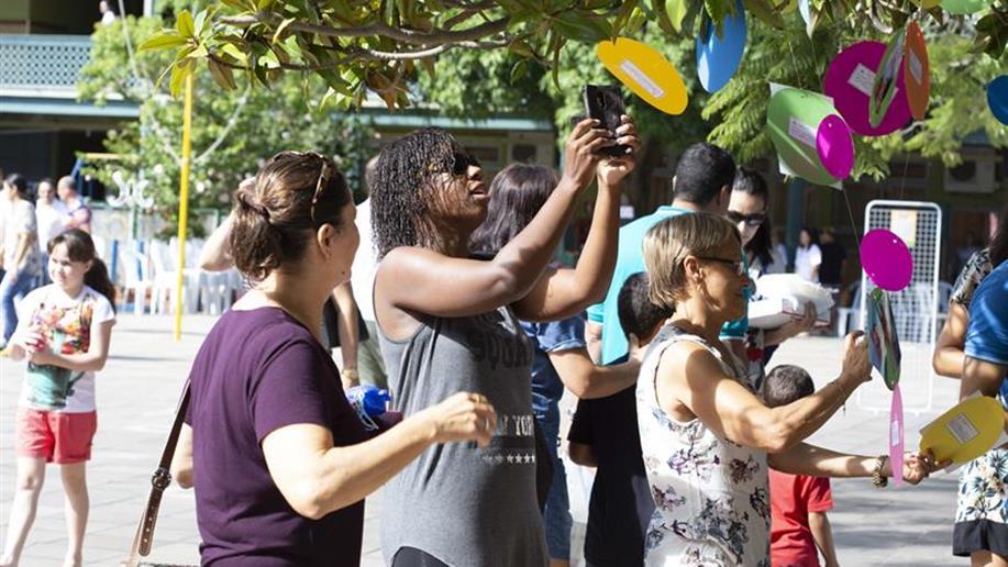 Momentos de encontro e confraternização marcaram a Festa da Família, neste sábado, 10/3.