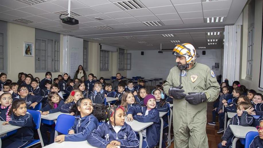 Estudantes do 2º ano do Ensino Fundamental participaram, nesta quarta-feira, 4/7, do lançamento da sequência didática de ciências humanas.