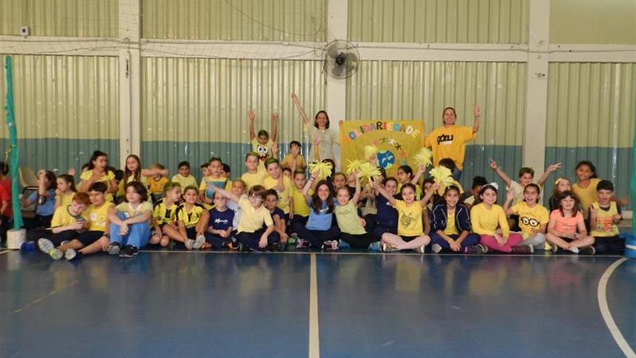 Gincana recreativa e solidária que tem como objetivo promover a integração entre os estudantes do Anos Iniciais do Ensino Fundamental.