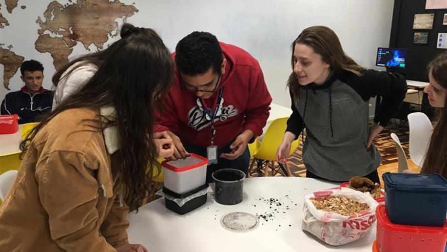 Estudantes aprenderam sobre Economia Circular, educação ambiental e sustentabilidade